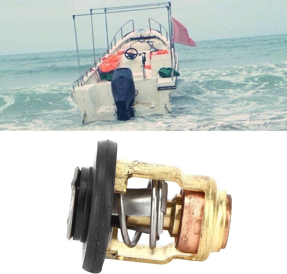 Boat Engine Thermostat Fit for Yamaha 3P-225P Horsepower Outboard 6E5-12411-30 Aramox Thermostat Engine