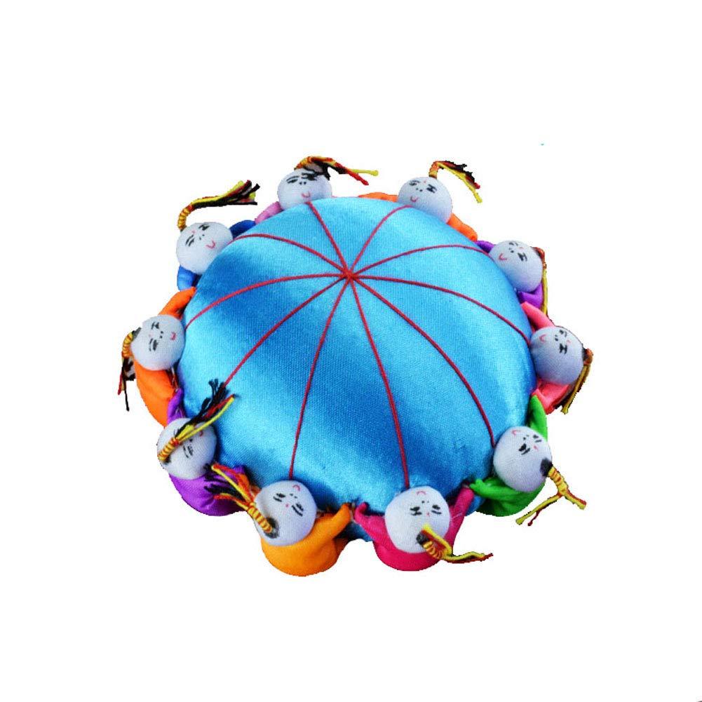 Carykon 4 Oriental Handmade Needle Pin Cushion with 10 Kids Hot Pink