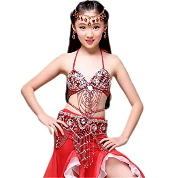 Wgwioo Chica Princesa Belly Dance Falda India Diamond ...