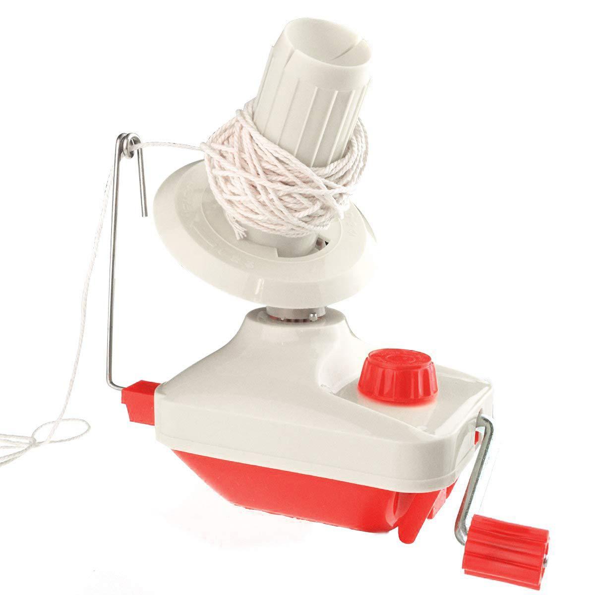 Yarn Ball Winder, Bobbin Winder Hand Operated Manual Wool Winder Holder Organize Knitting Tools for Yarn/Fiber/Wool/String Ball Winder