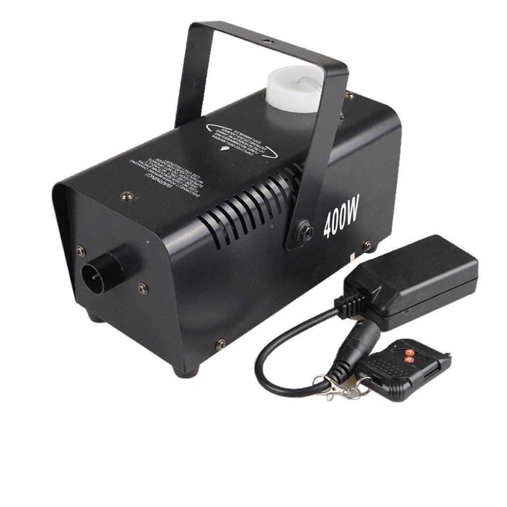 Mini Portable Remote RGB LED 400W Fog Machine DJ Show Stage Smoke Fogger Equipment RGB400 AUCD Smoke-RGB400
