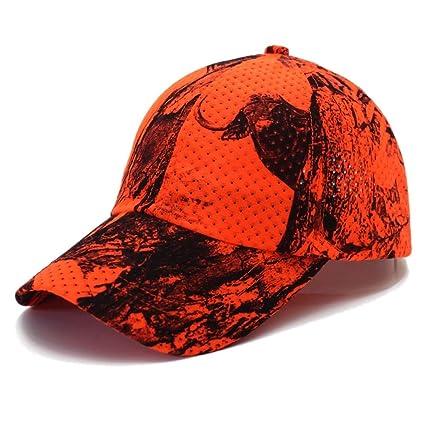 dfd7d8a0c Amazon.com : AKIZON Mens Baseball Cap Tactical Orange and Army Green ...