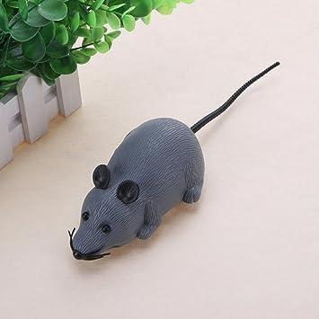 Macrorun - Ratón interactivo de simulación con dibujos animados para gatos y mascotas: Amazon.es: Productos para mascotas