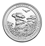 2016 D P national park quarter 2016 America the Beautiful Shawnee National Forest Quarter 2 coins D, P Uncirculated