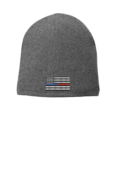 2376fd634 Amazon.com: Grey Thin Blue Red Line Flag Punisher Police Firefighter ...