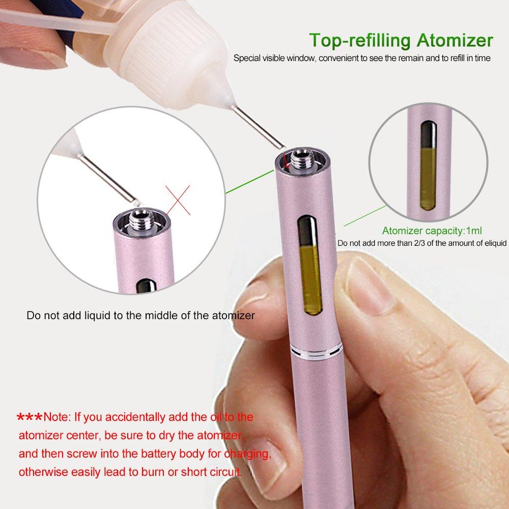 Kamry Kecig Micro 1.0 Nicotina Libera Sigaretta Elettronica Atomizzatore Sostitutiva kit di Starter Sostitutivo Senza Tabacco