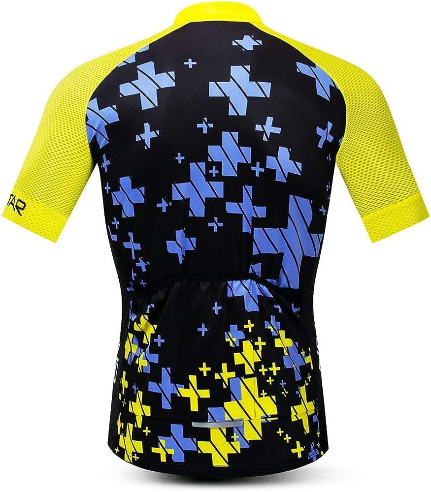 Men/'s Cycling Jersey MTB Bicycle Clothing Summer Short Sleeve Pro MTB Bike Outdoor Cycling Shirt Tops Jackets
