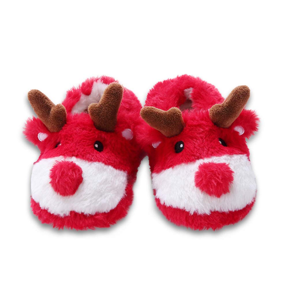 LOLANTA Kids Animal a-line Slippers Dinosaur/Reindeer /Lion
