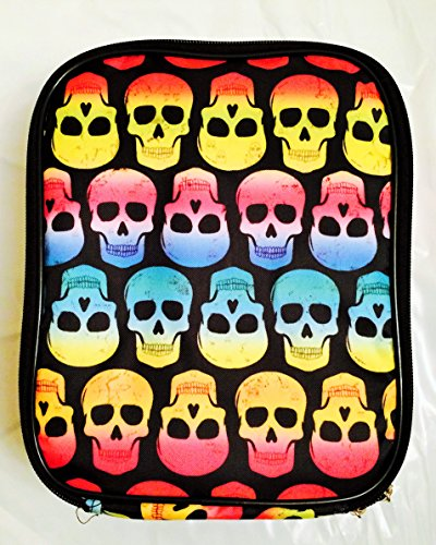 accessory-innovations-multi-colored-skull-lunch-tote