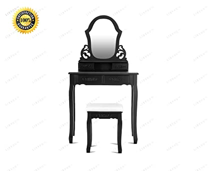 Astonishing Amazon Com Colibrox Vanity Makeup Dressing Set Vanity Gmtry Best Dining Table And Chair Ideas Images Gmtryco