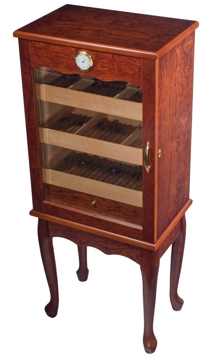 Orleans Group Display Humidor Multi Level Trays Glass Front Doo, 600 Count