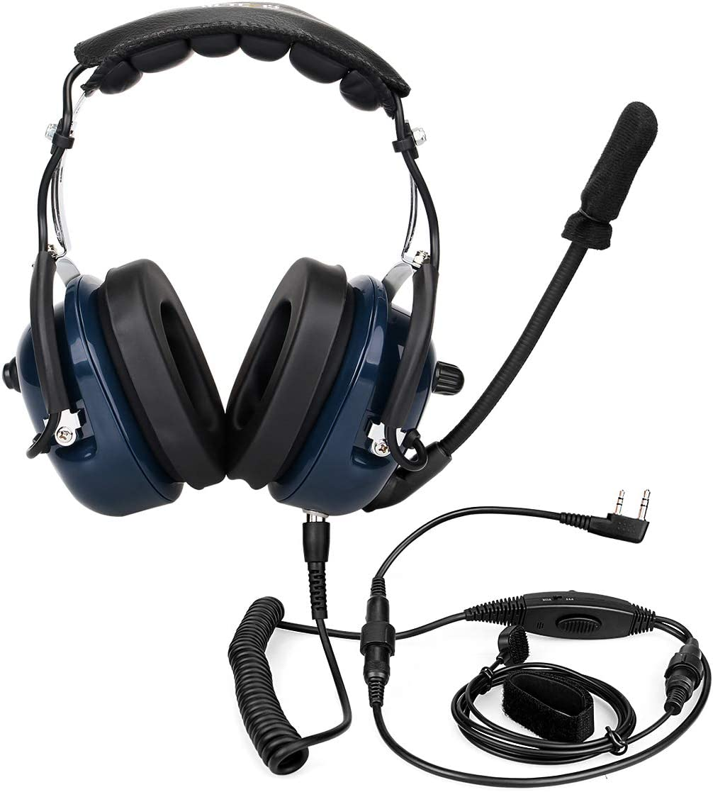 Aviation Headsets with Noise Reduction