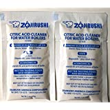 Zojirushi ADC-05 Citric Acid Electric Dispensing Pot Cleaner 1 Oz.(28 Gr.) - 2 Packs