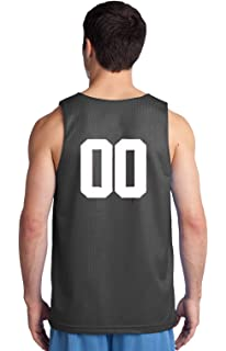 42feed7fc98 OnTheField Custom Basketball Reversible Jersey Both Sides Numbers Only on  Back of