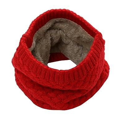 Écharpe Femmes, Amlaiworld Écharpe chaude d'hiver Mode Écharpe col tricoté Épaisseur Bufanda