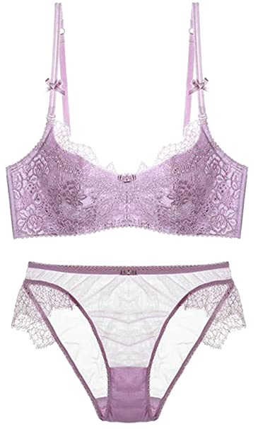 d45d83526a899 Image Unavailable. Image not available for. Color  Smallwin Womens See  Through Lace Cute Adjustable Straps Everyday Bras ...