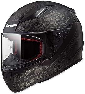 LS2 Helmets Full Face Rapid Street Helmet (Crypt - 2X-Large)