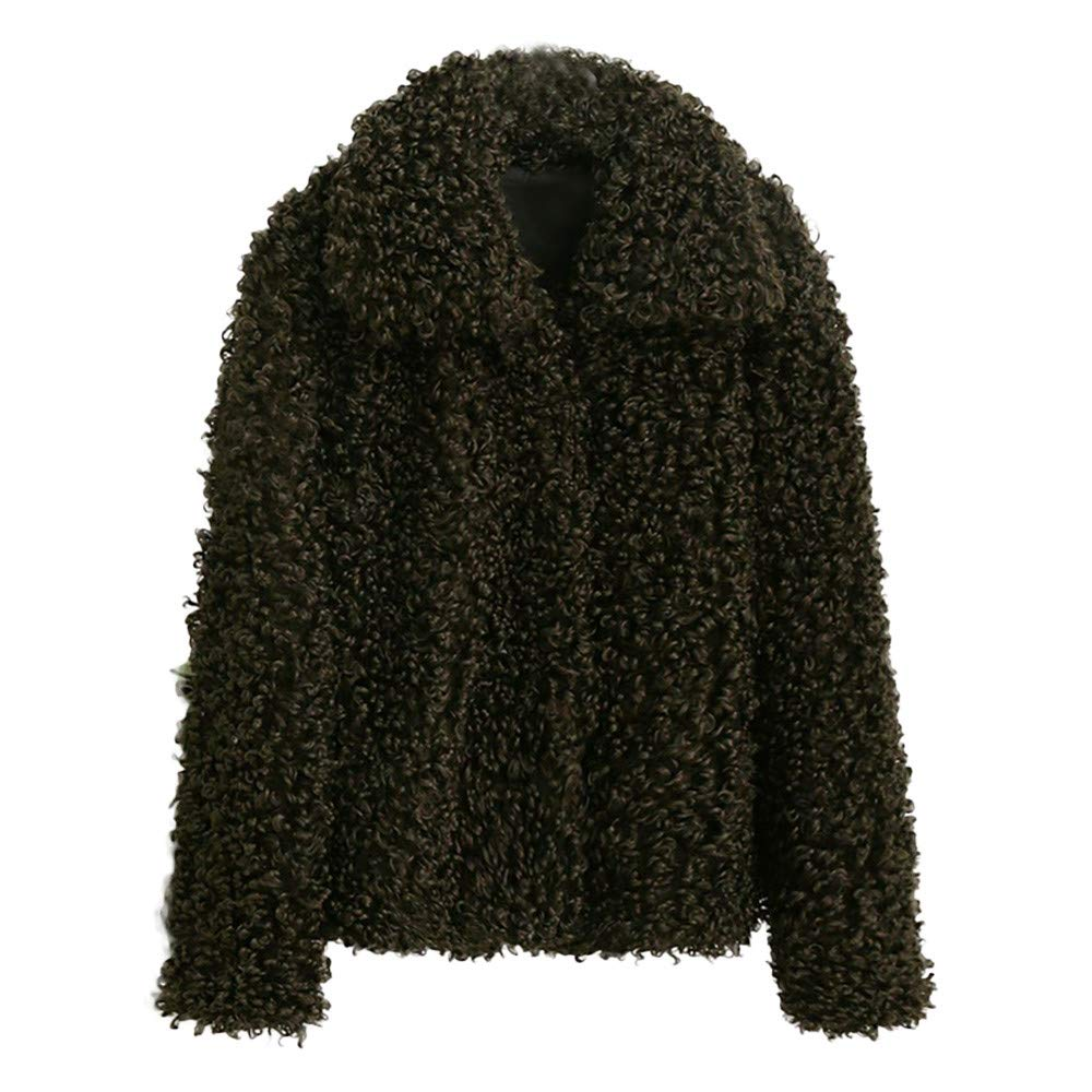 Seaintheson Women's Coats OUTERWEAR レディース B07HRFXJ2B Medium|アーミーグリーン アーミーグリーン Medium