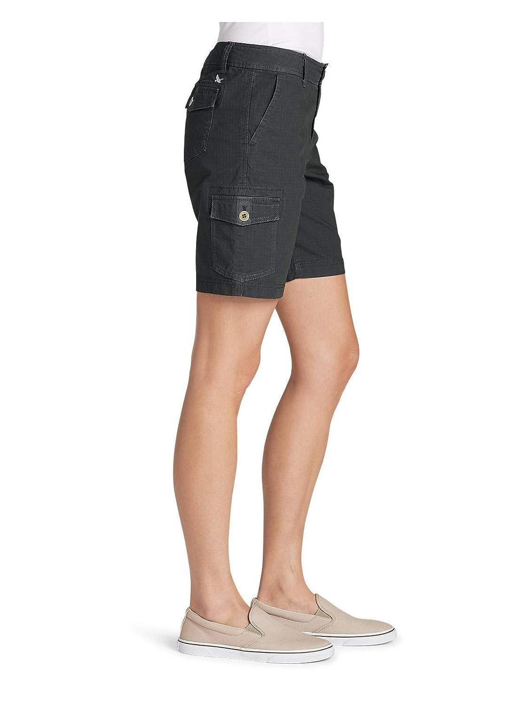 Eddie Bauer Womens Denim Shorts Sz 10 Slightly Curvy Shorts Women's Clothing
