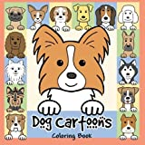Dog Cartoons Coloring Book