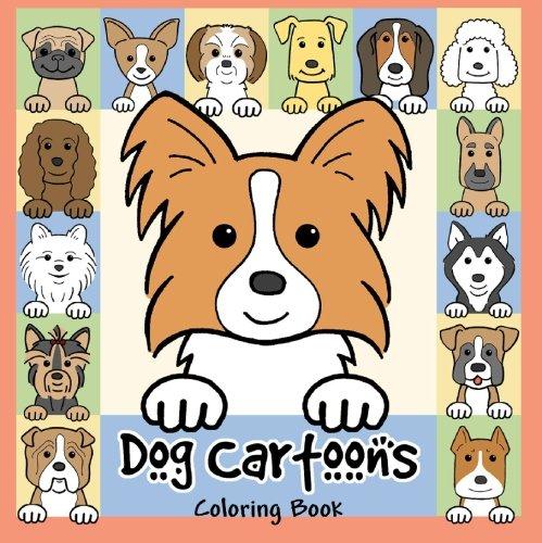 Read Online Dog Cartoons Coloring Book pdf epub