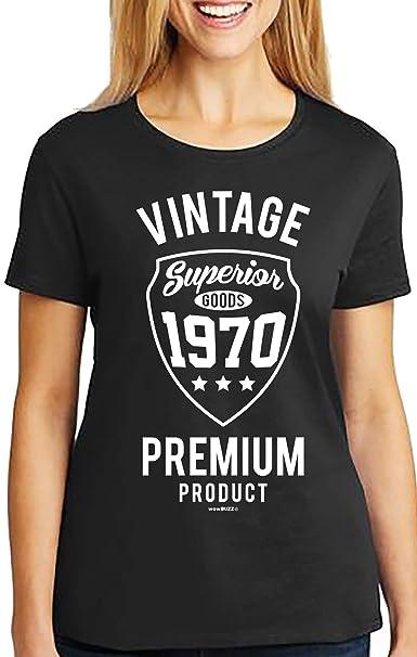 50th Birthday Gifts 50 cumpleaños Mujer Vintage Camiseta