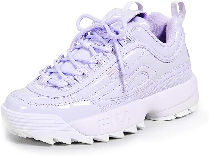 Pastel Purple Fila Disruptor II Sneakers