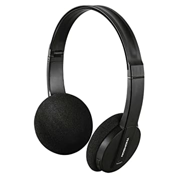 Thomson WHP6005BT - Auriculares de ciadema Cerrados (Bluetooth, USB, Miroc-USB, Plegables), Color Negro: Amazon.es: Electrónica