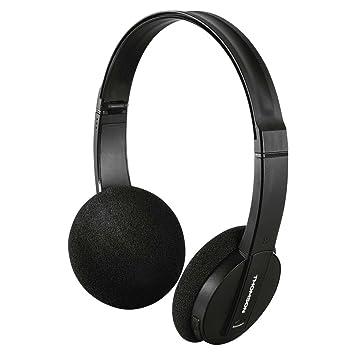 Thomson WHP6005BT - Auriculares de ciadema Cerrados (Bluetooth, USB, Miroc-USB, Plegables), Color Negro: Amazon.es: Electrónica