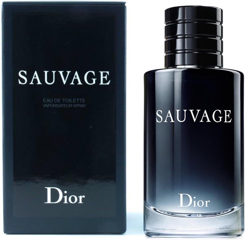 DIOR SAUVAGE por Dior 3. Eau de Toilette (EDT) para hombre, 100 ml: Amazon.es: Belleza