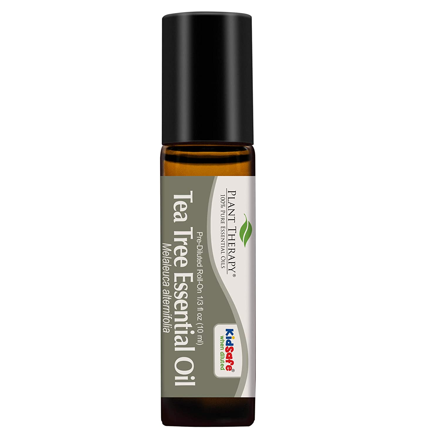 Plant Therapy Tea Tree Essential Oil 100% Pure, Pre-Diluted Roll-On, Natural Aromatherapy, Therapeutic Grade 10 mL (1/3 oz)