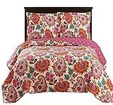King Size Comforter Sets 110 X 96 Tamiya King/Calking Size, Over-Sized Quilt 3pc set 110