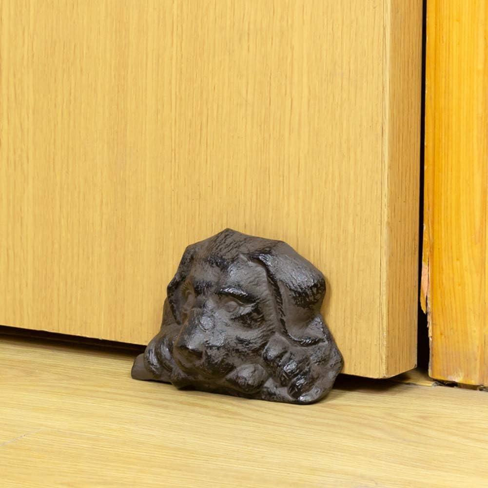 Soundproof Door Holder For Patio Antique Style Decorative Cute Animal Statue Door Stopper Wedge Heavy Duty