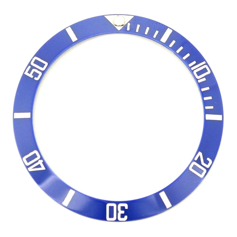 ベゼル挿入にフィットRolexレディースSubmariner – ブルー/ホワイトセラミック B078MY1R4K