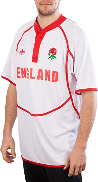 Rugby Nation - Camiseta de rugby 100% poliéster, ideal para uso ...