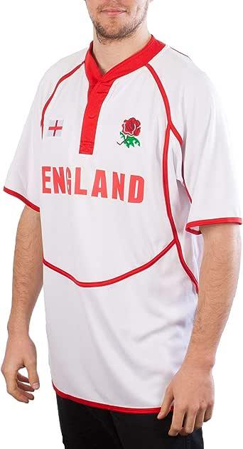 Rugby Nation - Camiseta de rugby 100% poliéster, ideal para uso diario, y jugar al rugby disponible en tamaños (XS-XXXL): Amazon.es: Ropa y accesorios