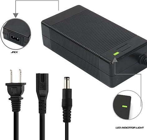 Amazon.com: evaplus 42 V 2 A Cargador eléctrico Cargador de ...