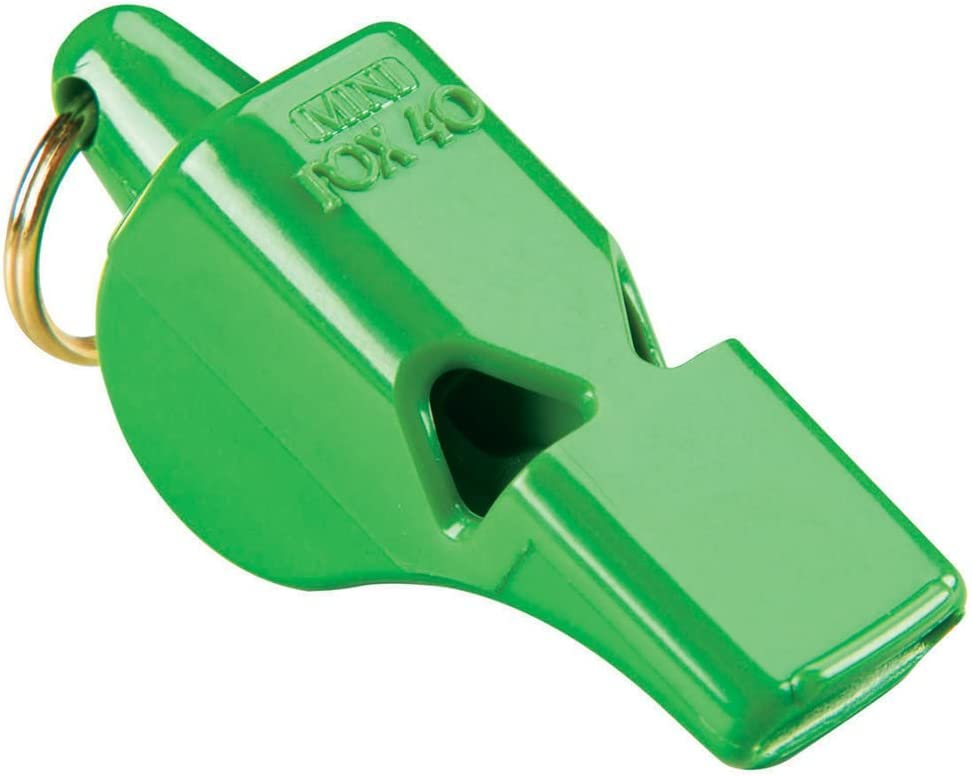 Pink Fox 40 Classic Official 3-Chamber Pealess Whistle