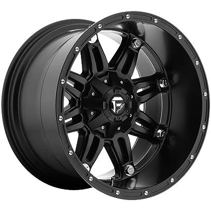 Fuel Rims 20X12 >> Amazon Com Fuel Hostage Matte Black Wheel 20x12 Automotive