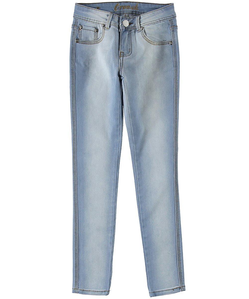 Crunch Big Girls'Alexa Skinny Jeans 10