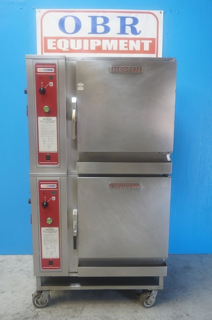 Blodgett Double Stacked Convection Combi Oven Model Bcs-6 Mfg 2007