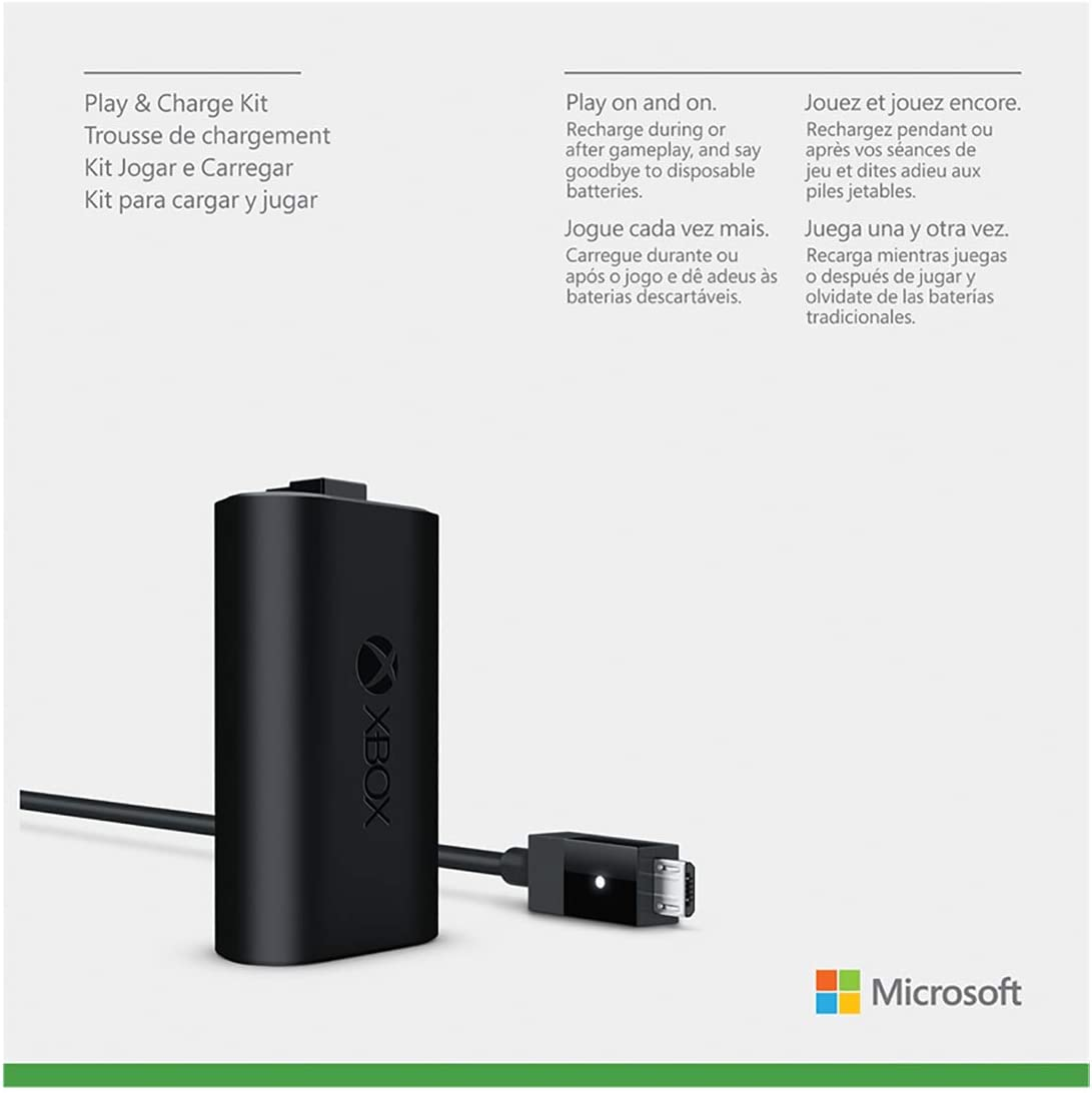 Microsoft Play and Charge Kit for Xbox One [Importación inglesa ...