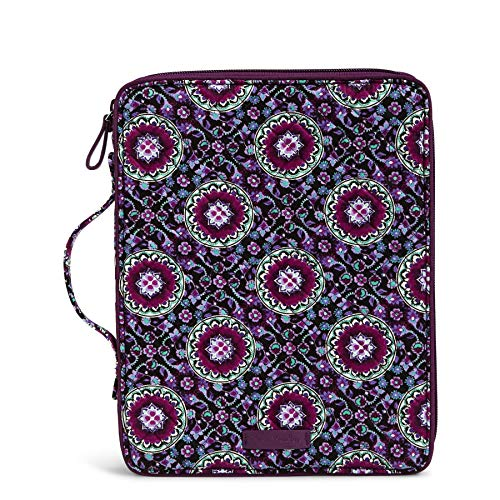 Bradley Vera Laptop - Vera Bradley Iconic Tablet Tamer Organizer - Signature Messenger Bag Bag