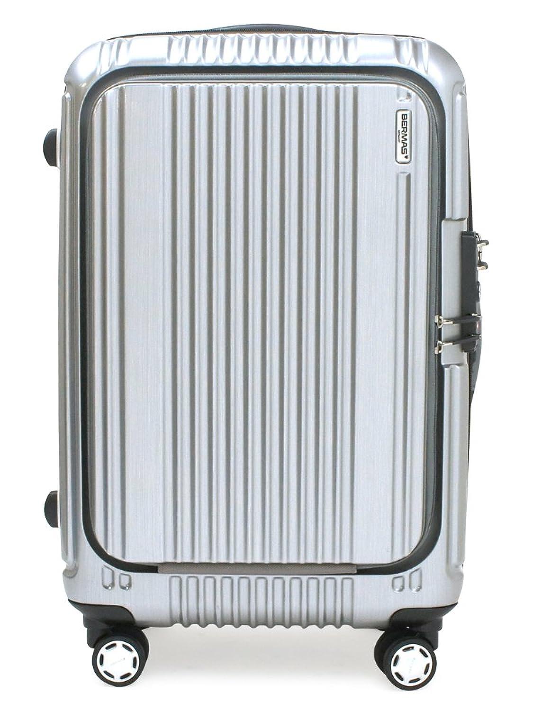 (バーマス) BERMAS スーツケース 60256 56cm プレステージII B07B3VH626【22】シルバー