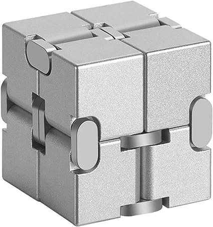 High Texture Infinity Cube Magic Cube Aluminum alloy Professional toys