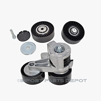 BMW Cinturón tensor w/Polea + correa de distribución para polea Premium calidad 11287563927/