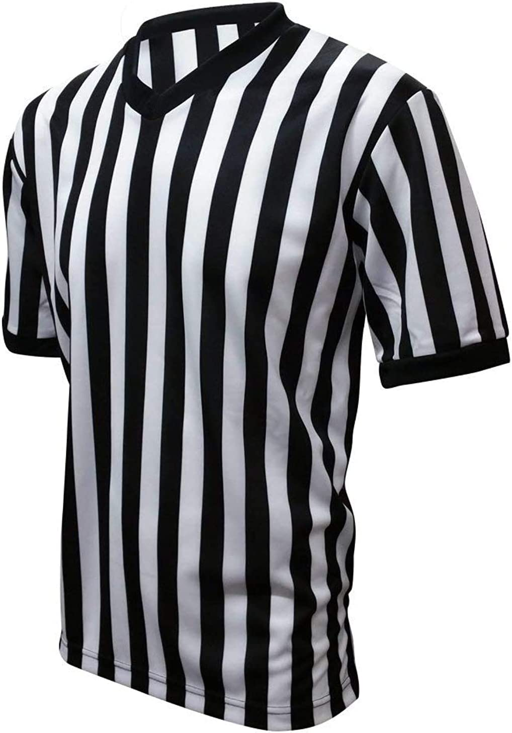 PRO FIT Official Referee Jersey V-Neck Shirt Officiating Jersey Basketball Football: Sports & Outdoors