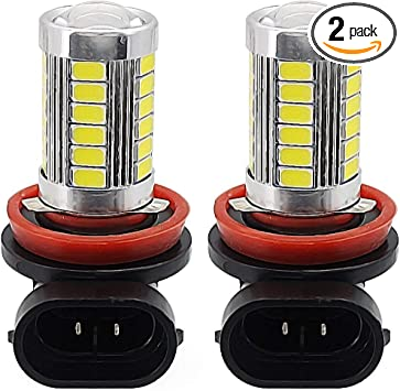 Super Bright H11//H8 SMD5630 White LED Auto Car Fog Light Headlight 12V