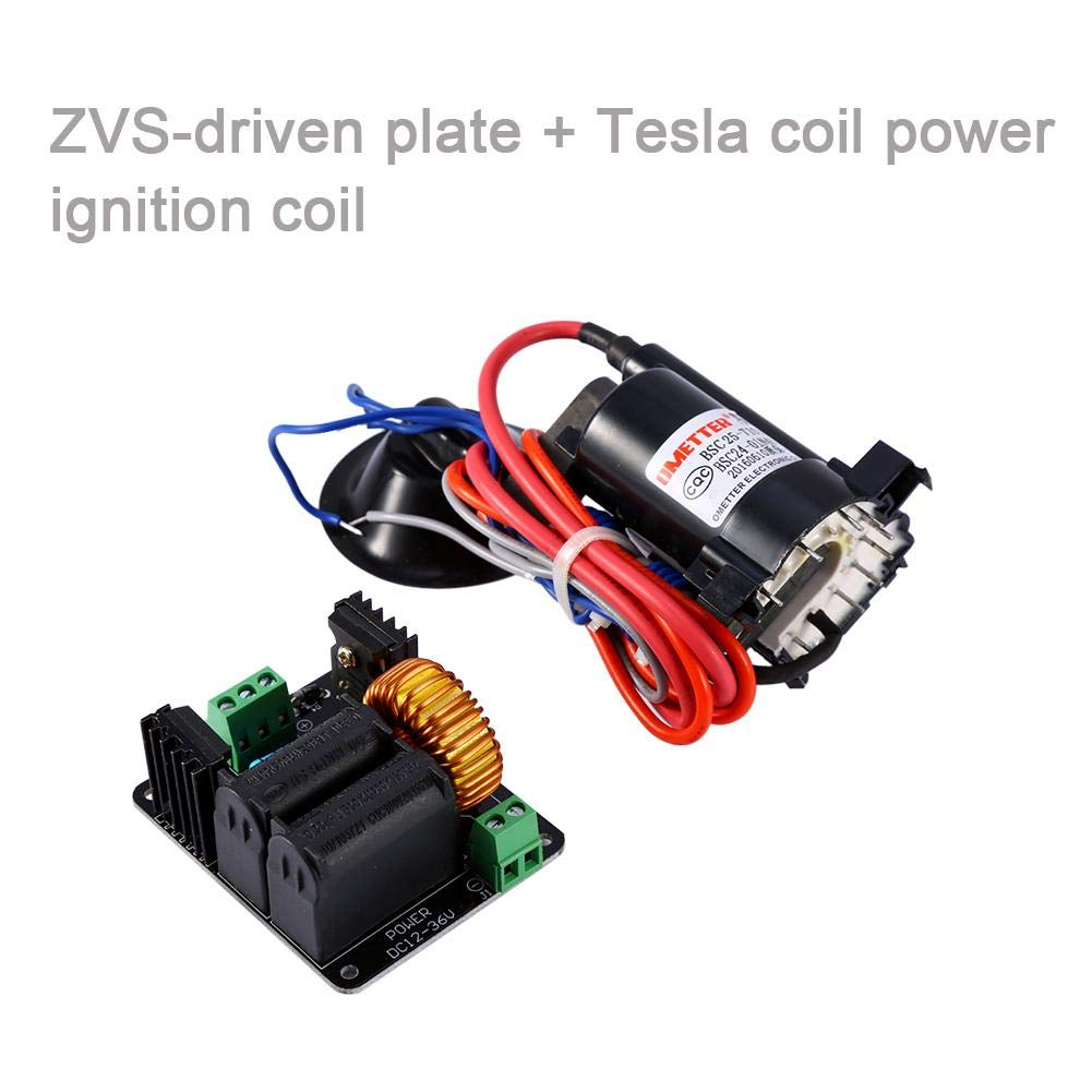 Tesla Coil Flyback Driver//Generador//escalera Bobina de encendido 12-36v