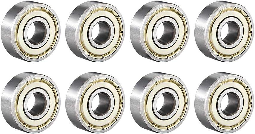 2 x Ball Bearing 606ZZ Roulement à Billes 6 x 17 x 6mm 606ZZ